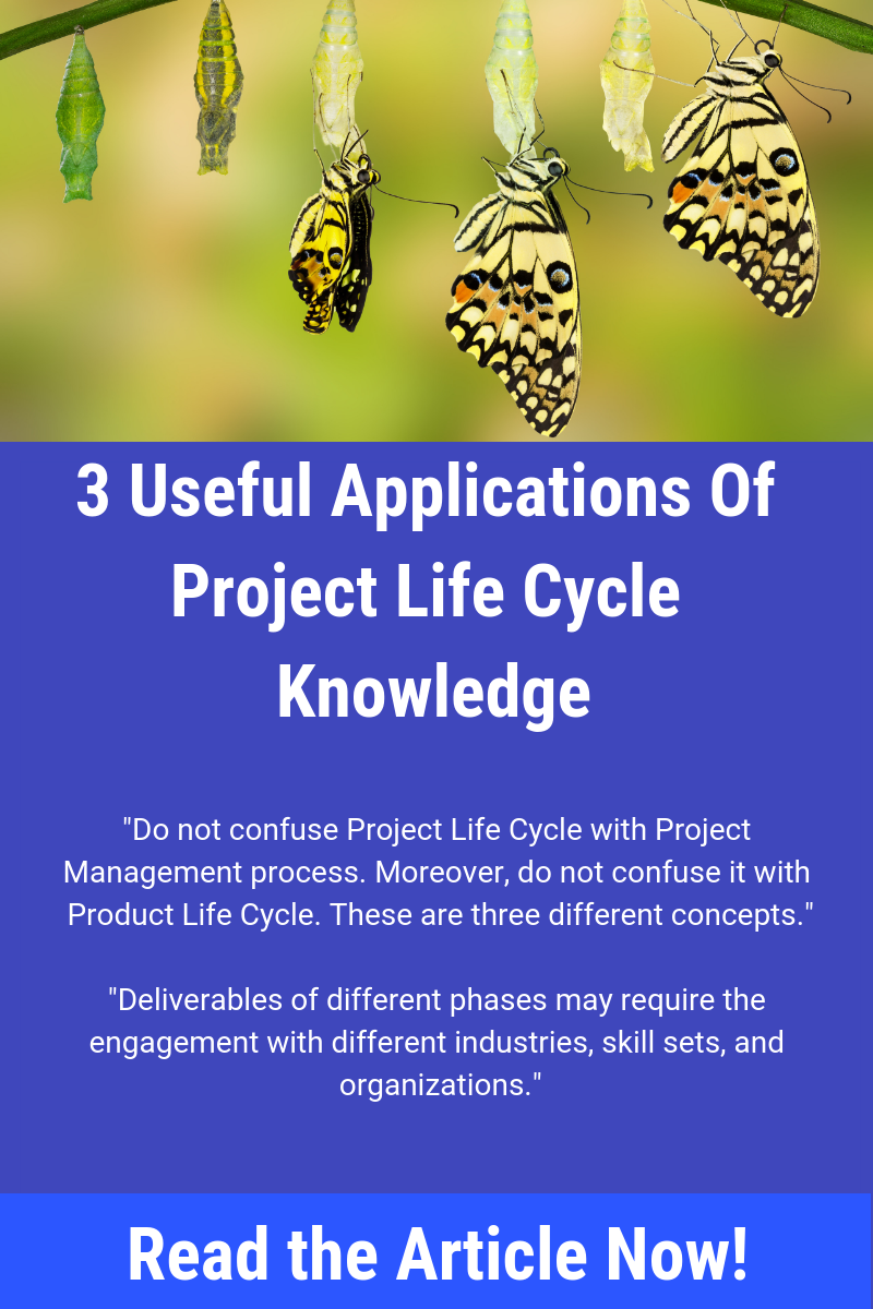 In this article you will learn about practical application of the project life cycle. You will learn why it's important and how to use it correctly. Save the pin and click through to learn more.