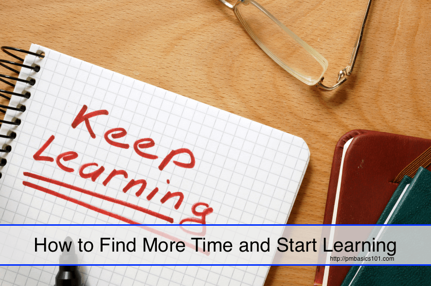 How to Find More Time and Start Learning