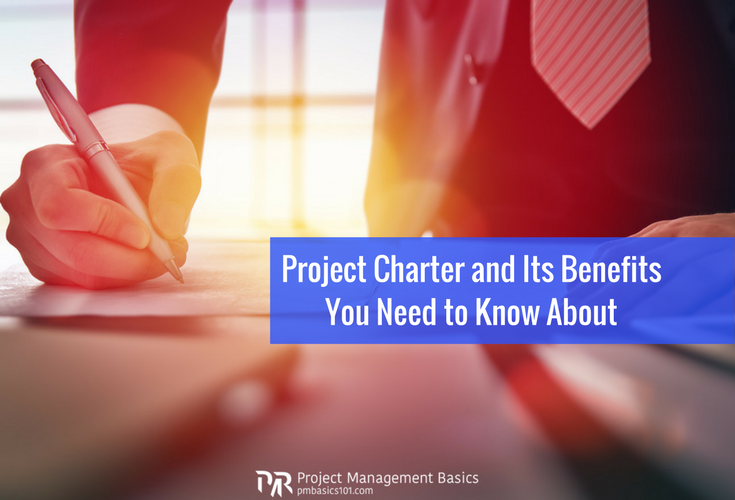 Sponsor signs off a project charter