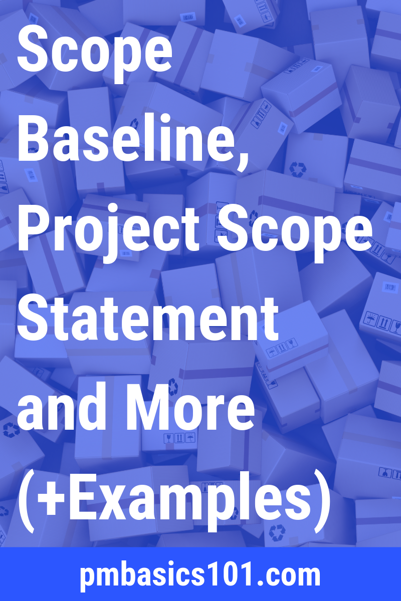 In this article you will learn everything you need to know about project scope management. It includes project scope statement, Work Breakdown Structure, WBS Dictionary and more. You will also learn how to actually manage project scope. Save the pin and read the article now.
