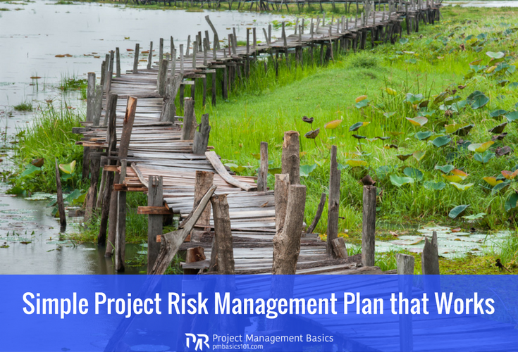 Simple Project Risk Management Plan that Works