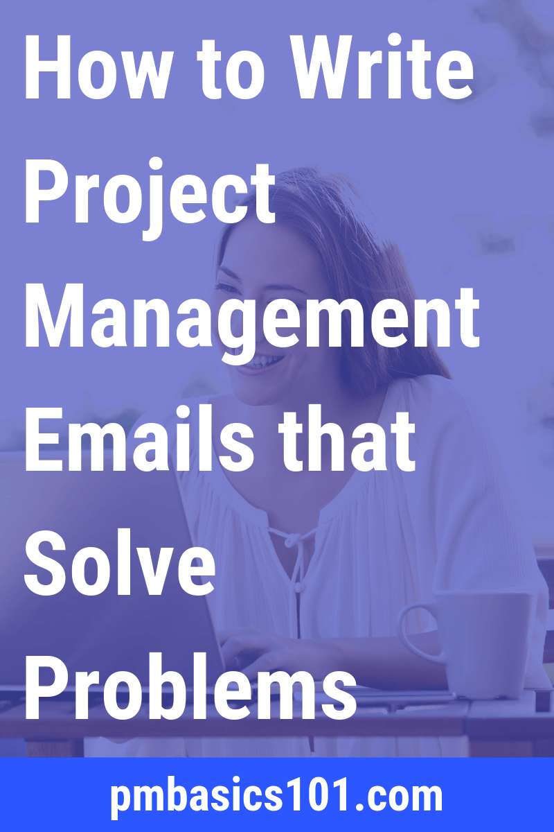 How to write emails in project management? For a project manager it's a key communications medium. You do need to learn to write efficient emails. Otherwise they will overwhelm you. Good thing is that there is a formula to an efficient email. Save the pin and click through to read the article.