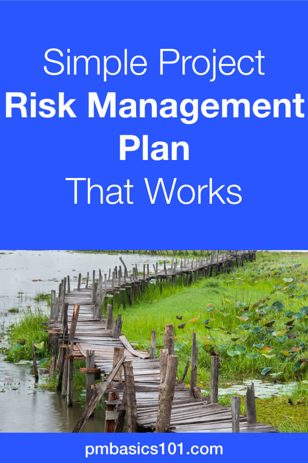 Project Risk Management Plan. When you hear those words, you imagine super serious process. Stakeholders are rolling up their eyes because they don't want to hear about additional reserves. And fuck ups still happen. It's one of the documents in project management you should not pass on. Even if you create a one page risk management plan your project management will have higher chances for success. Moreover, you can reuse the plan later as a template. On the next project, you can improve it. Save the pin and click to read the article. #projectmanagement #riskmanagement #plan #template