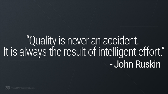 quote on quality in project management