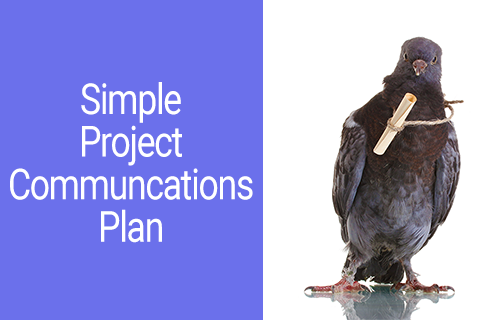 Simple Project Management Communications Plan