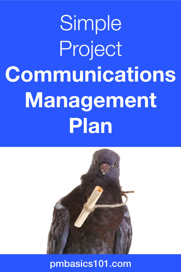Project Communications Plan is a crucial document in project management. However, it should not be too complicated. You can have a valuable communications plan by answering and documenting simple questions. This article, explains how to create a simple plan for a small project. Save the pin and click to read the article. #projectmanagement #communications #plan
