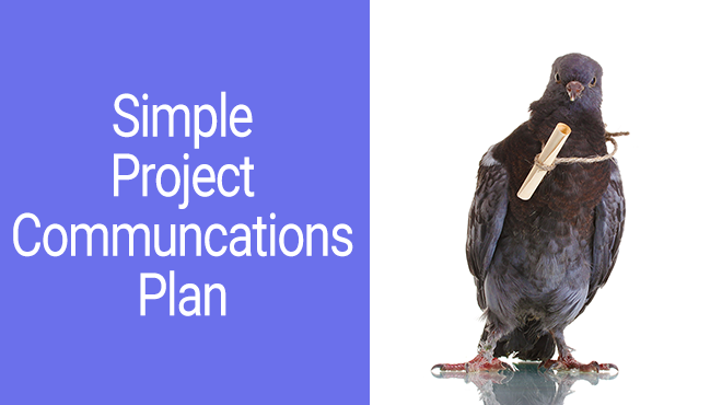 project management communications plan