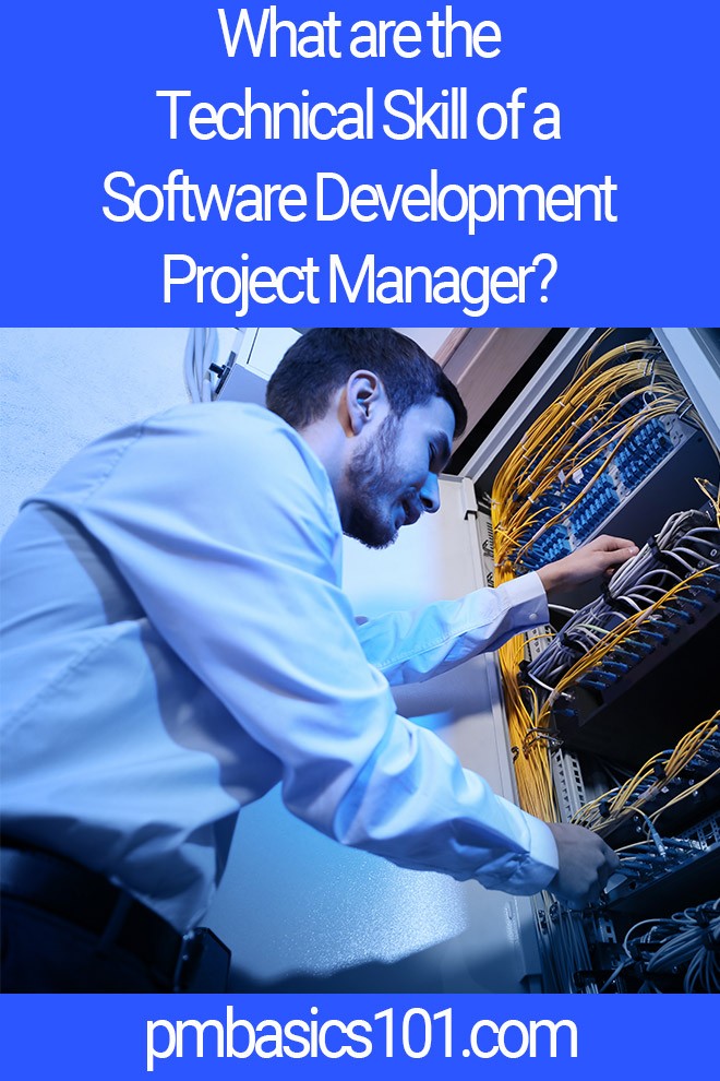 technical skills of software development project manager