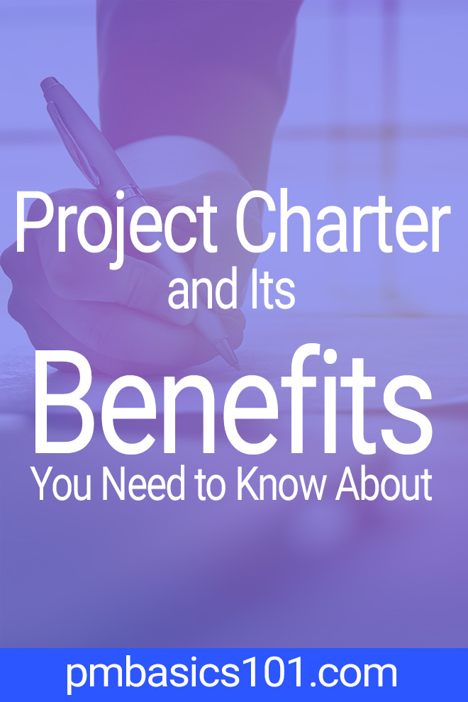 Project Charter is the main document in project management