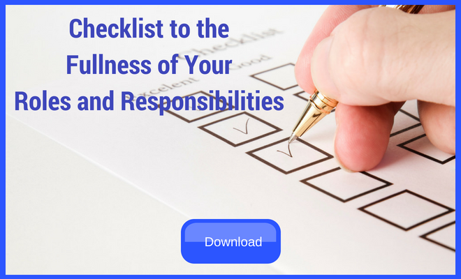 Responsibilities of a Project Manager Checklist