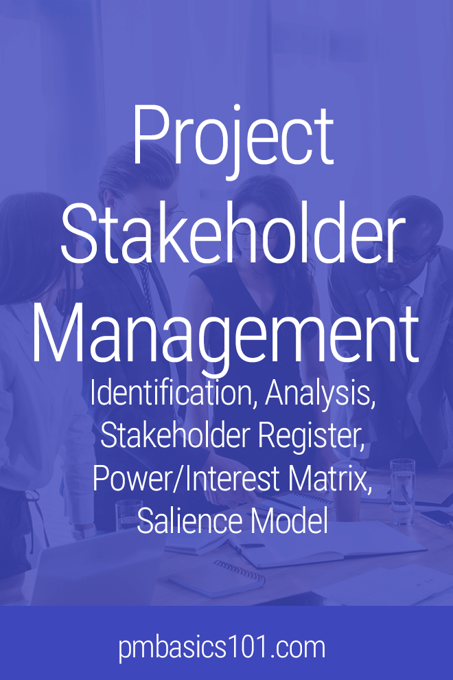 Project Stakeholder Management includes identification, analysis, and defining engagement plan