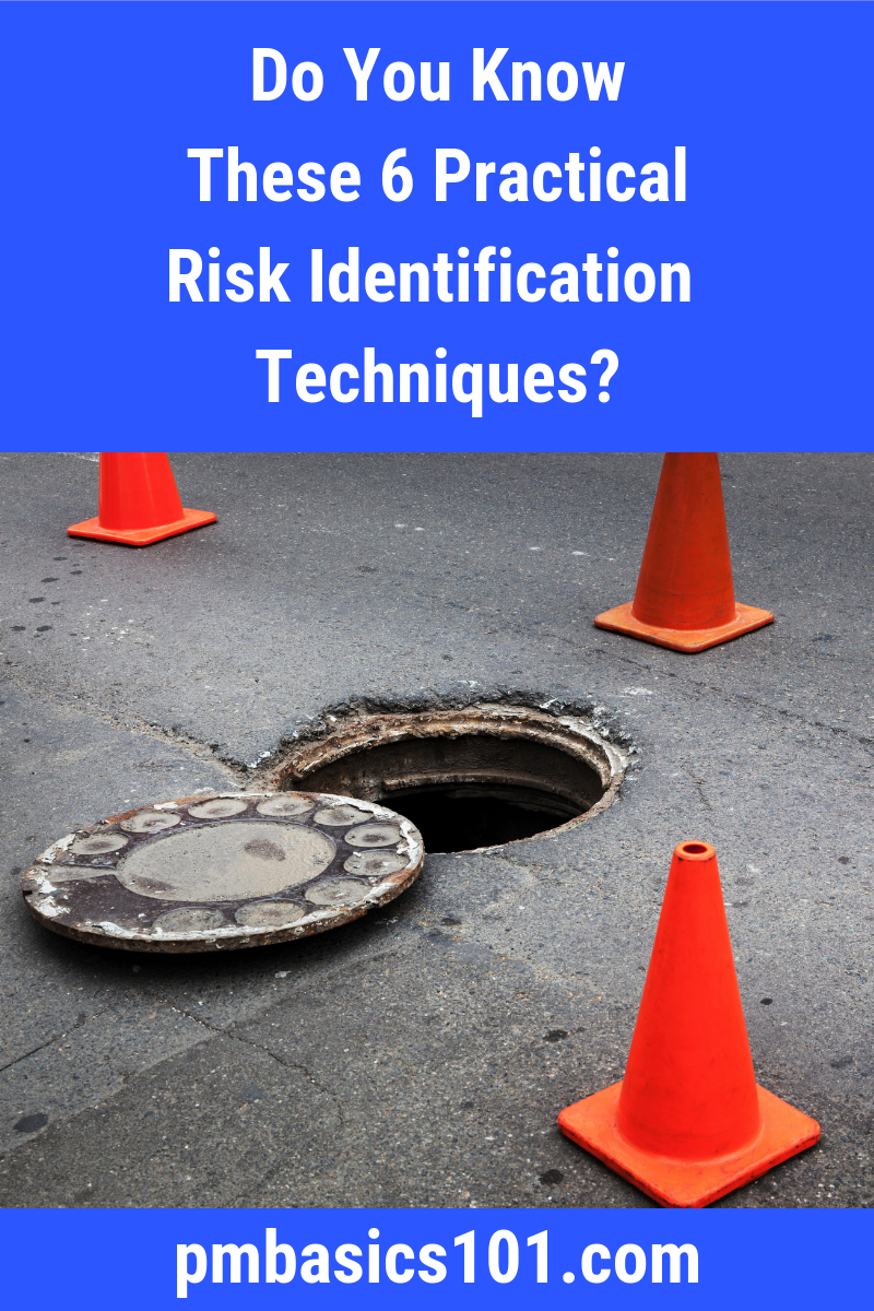 How to perform risk identification? How to discover problems that you are unaware of? What risk identification techniques are effective. Learn about six practical techniques that you can easily apply in any project. Save the Pin and click through to read the article.