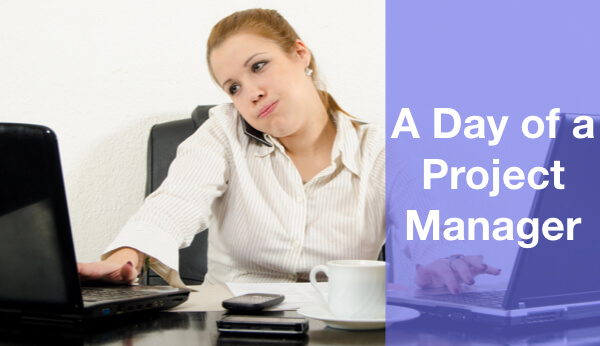 A day of a project manager