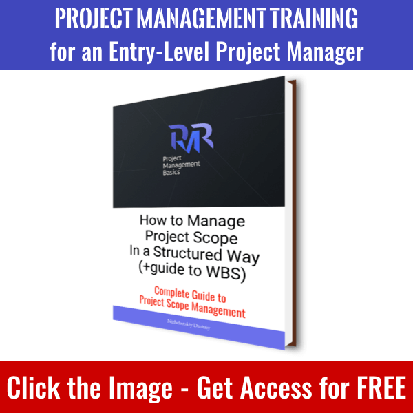 Click the image to get access to How to Manage Project Scope in a Systematic Way book and whole PM Basics Library.